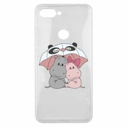 Чохол для Xiaomi Mi8 Lite Hippos