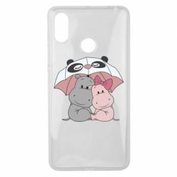 Чохол для Xiaomi Mi Max 3 Hippos