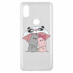 Чохол для Xiaomi Mi Mix 3 Hippos