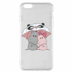 Чохол для iPhone 6 Plus/6S Plus Hippos