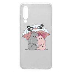 Чохол для Xiaomi Mi9 Hippos