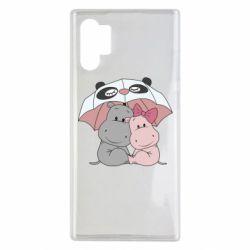 Чохол для Samsung Note 10 Plus Hippos