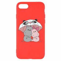 Чохол для iPhone 8 Hippos