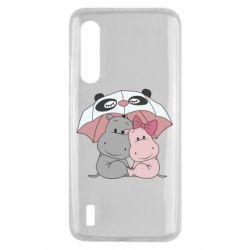 Чохол для Xiaomi Mi9 Lite Hippos