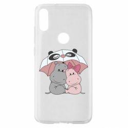 Чохол для Xiaomi Mi Play Hippos