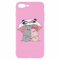 Чохол для iPhone 8 Plus Hippos