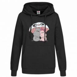Толстовка жіноча Hippos
