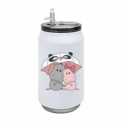 Термобанка 350ml Hippos