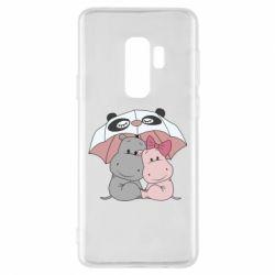 Чохол для Samsung S9+ Hippos