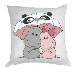 Подушка Hippos