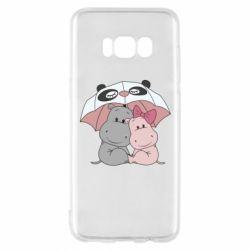 Чохол для Samsung S8 Hippos