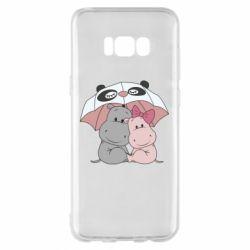 Чохол для Samsung S8+ Hippos