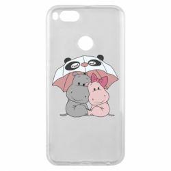 Чохол для Xiaomi Mi A1 Hippos