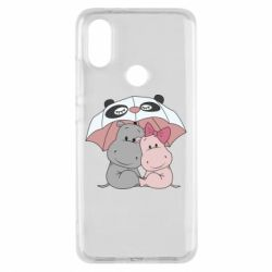 Чохол для Xiaomi Mi A2 Hippos