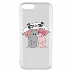 Чохол для Xiaomi Mi6 Hippos