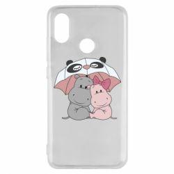 Чохол для Xiaomi Mi8 Hippos