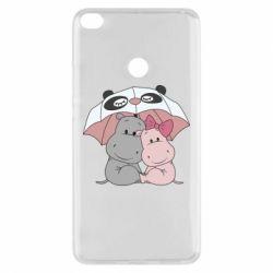 Чохол для Xiaomi Mi Max 2 Hippos