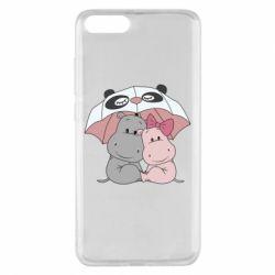 Чохол для Xiaomi Mi Note 3 Hippos