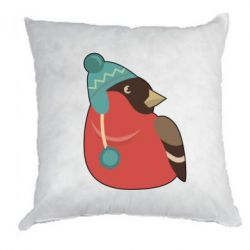 Подушка Hipster Christmas Bird - FatLine