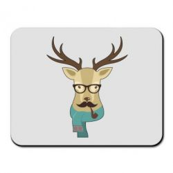 Коврик для мыши Hipster Christmas Deer - FatLine