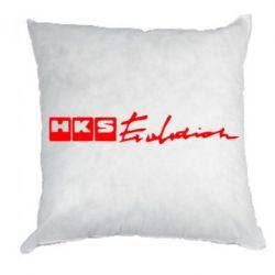 Подушка HKS logo - FatLine