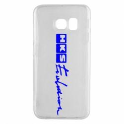 Чохол для Samsung S6 EDGE HKS logo