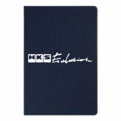 Блокнот А5 HKS logo