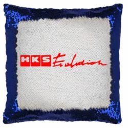 Подушка-хамелеон HKS logo