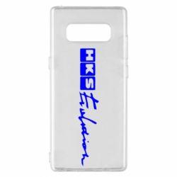 Чохол для Samsung Note 8 HKS logo