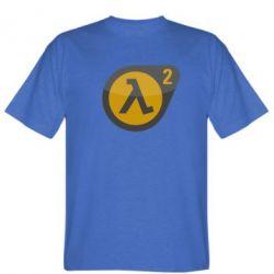 Мужская футболка HL 2 logo - FatLine
