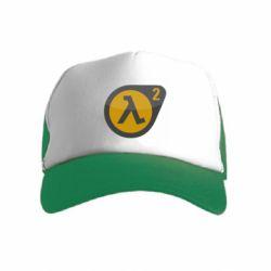 Детская кепка-тракер HL 2 logo