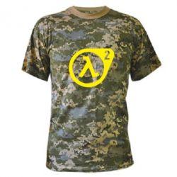 Камуфляжная футболка HL2 - FatLine