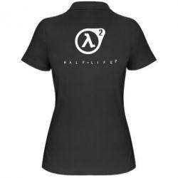 Женская футболка поло HL - FatLine