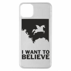 Чохол для iPhone 11 Pro Max Хочу вірити в єдинорогів