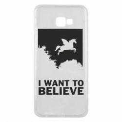 Чохол для Samsung J4 Plus 2018 Хочу вірити в єдинорогів