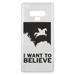 Чохол для Samsung Note 9 Хочу вірити в єдинорогів