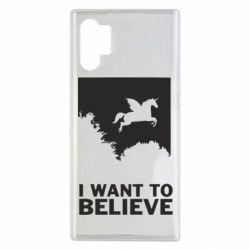 Чохол для Samsung Note 10 Plus Хочу вірити в єдинорогів