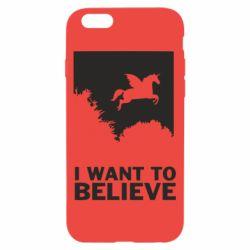 Чохол для iPhone 6/6S Хочу вірити в єдинорогів