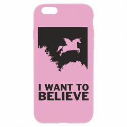 Чохол для iPhone 6 Plus/6S Plus Хочу вірити в єдинорогів
