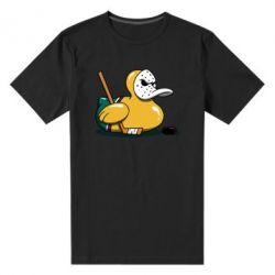 Чоловіча стрейчева футболка Hockey duck