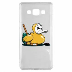 Чохол для Samsung A5 2015 Hockey duck