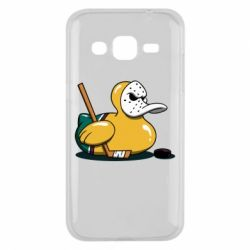 Чохол для Samsung J2 2015 Hockey duck