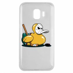 Чохол для Samsung J2 2018 Hockey duck