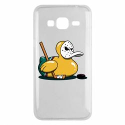 Чохол для Samsung J3 2016 Hockey duck