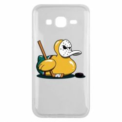 Чохол для Samsung J5 2015 Hockey duck