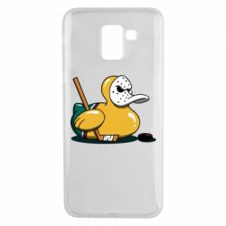 Чохол для Samsung J6 Hockey duck