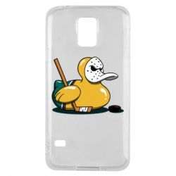 Чохол для Samsung S5 Hockey duck