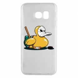Чохол для Samsung S6 EDGE Hockey duck