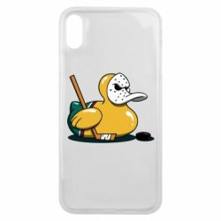 Чохол для iPhone Xs Max Hockey duck
