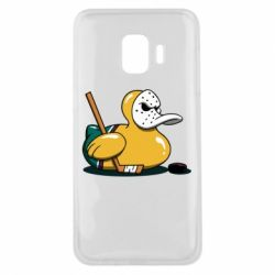 Чохол для Samsung J2 Core Hockey duck
